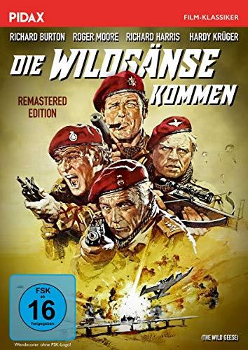 Die Wildgänse kommen - Remastered Edition (The Wild Geese) / Spektakuläre Söldner-Action mit Weltstarbesetzung in brillanter Bildqualität (Pidax Film-Klassiker)