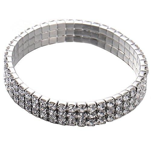 sotoboo Pet Dog Halsband, Multi Zeilen Bling Diamant Strass Kristall Kragen Sparkly Luxus Nieten Halskette Halsbänder für Welpen Kitty Katze Hunde