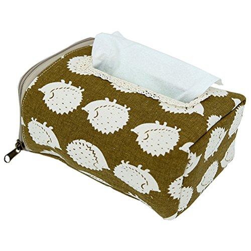 Chrom Tissue Box Cover (Fieans Tissue Box Taschentuch Papier Handtuch Tube Tissue Cover Papier Halter Serviette Box-Igel)