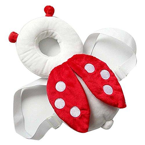 er Nestchen Kopf Rücken mit Flügel Helm Sicherheit Assistent Baby 4–15Monate lernt zu wandern Laufen rot (Kopf Assistent)