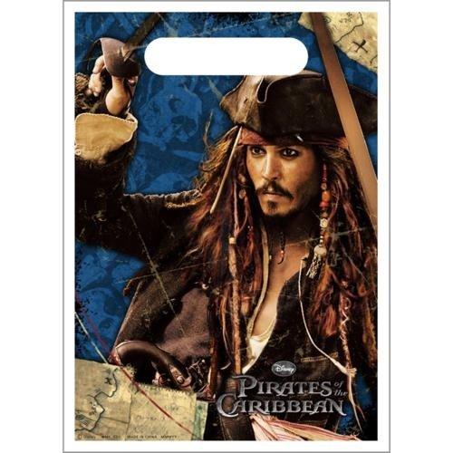 Pirates of the Caribbean 4 - Treat Bags (Taschen Piraten Behandeln)