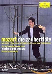 Die Zauberflöte: Orchester Der Oper Zurich (Harnoncourt) [DVD] [2007]