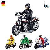 HSP Himoto RC ferngesteuertes Motorrad 4 verschiedene Modelle Polizei, Motocross, Chopper,US Motorbike, Ready-To-Drive, Inkl. Fernsteuerung und integr. Akku