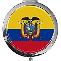 "metALUm - Extragroße Pillendose in runder Form""Flagge Ecuador"" preisvergleich bei billige-tabletten.eu"