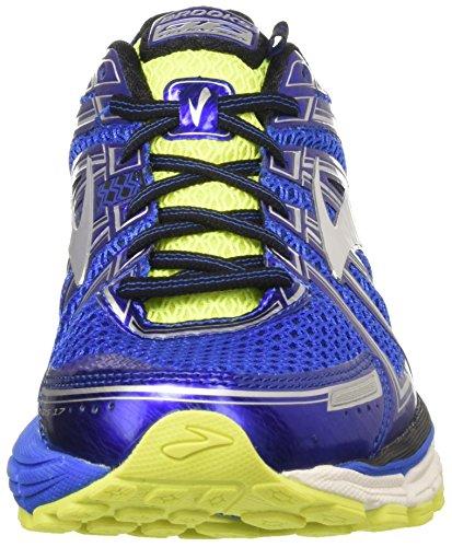 Brooks Men's Adrenaline Gts 17 Gymnastics Shoes, Blue (Electric Blueblacknightlife), 9 Uk