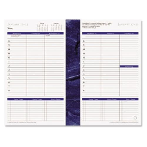 FranklinCovey - Monticello Dated Weekly/Monthly Planner Refill, 5-1/2 x 8-1/2, 2016 37062-16 by Franklin Covey