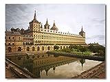 Cuadro Decoratt: Monasterio del Escorial, Madrid - Fotografia - Color 48x35cm. Cuadro de impresión directa.