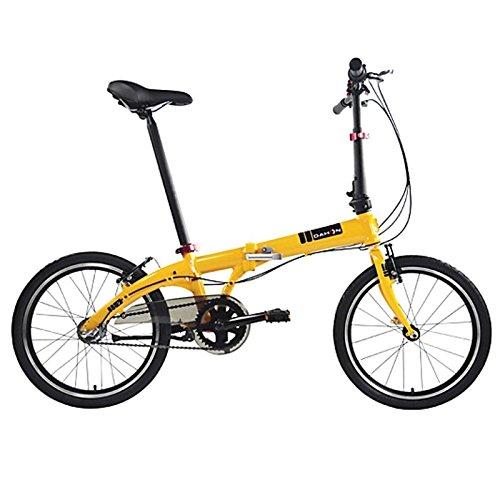 Dahon Faltrad VYBE i3 3 Gang ND Orange 20 Zoll Light Klapp Fahrrad Faltrahmen Shimano Nexus Uni, 942089