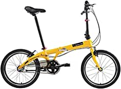 Dahon Faltrad VYBE i3 3 Gang ND Orange 20 Zoll Light Klapp Fahrrad Faltrahmen Shimano Nexus