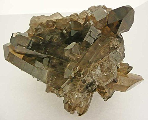 Mineral Import - Drusa Cuarzo Ahumado en Bruto (El Precio es por 0.5Kg) - 2639VC