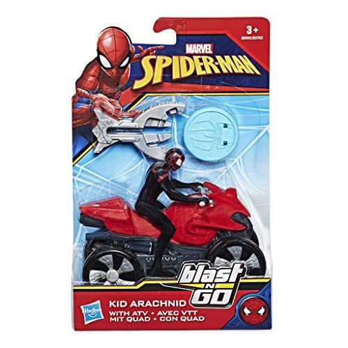 Marvel Spiderman- Surtido Blast N Go (Hasbro B9705EU6)