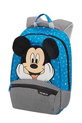 Samsonite disney ultimate 2.0 - backpack small zainetto per bambini, 34 cm, 11.5 liters, multicolore (mickey letters)