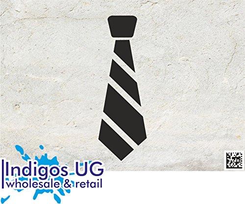leber - JDM / Die cut - Fasching - Krawatte - Kostüm - 210x70mm schwarz (Schwarze Kostüme Motorhaube)