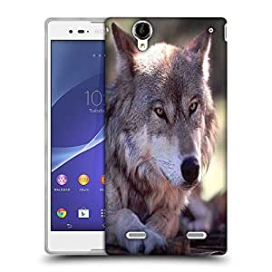 Snoogg Abstract Dog Designer Protective Phone Back Case Cover For Sony Xperia T2 Ultra