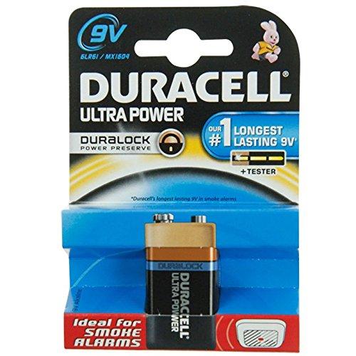 DURACELL ULTRA M3 9 Volt/6LR61 1er Pack 9v Volt Duracell Batterien