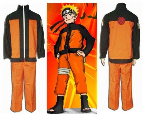 Sunkee Japanische Anime Naruto Uzumaki Naruto Cosplay Kostüm, Größe S( Alle Größe Sind Wie Beschreibung Gesagt, überprüfen Sie Bitte Die Größentabelle Vor Der Bestellung ) (Naruto Uzumaki Cosplay Kostüm)