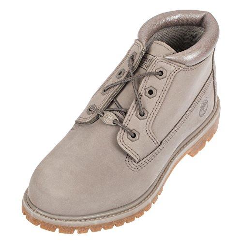 Timberland Nellie Chukka Double Waterproof Boot Steeple Grey Metallic Collar - 6...