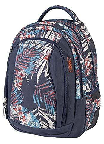 Target Unisex 2-in-1 Backpack, Leafs, 40 litre