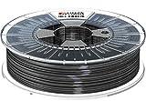 Formfutura 175HDGLA-BLBLCK-0750 3D Printer Filament, PETG, Blinded Schwarz