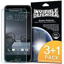 Protector de pantalla HTC One A9 - Defender Invisible [3 + 1 Pack / MAX HD CLARIDAD] Garantía de por vida Perfecto Toque de precisión de alta definición (HD) Claridad de Cine (4pack) para HTC One A9