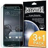 Protecteur d'écran HTC One A9- Invisible Defender [3 Avant + 1 Gratuit / MAX HD CLARITY] Garantie à vie Perfect Touch précision Haute Définition (HD) Clarté Film pour HTC One A9