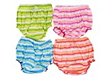 Pack of 4, Multicolor,6-12 months Baby J...