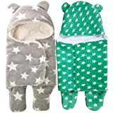 BRANDONN 3 In 1 Baby Boy's And Baby Girl's Baby Blanket/Safety Bag/Sleeping Bag For Babies For Babies(Pack Of 2)