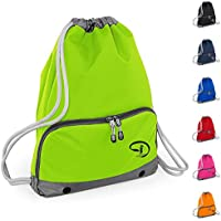 3d965fba318d Good Quality Gym Bag - Swim Bag - Drawstring Backpack - Waterproof - Strong  stitching and