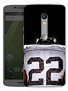 "Humor Gang Rugby Love Printed Designer Mobile Back Cover For ""Motorola Moto X Play"" (3D, Matte Finish, Premium Quality, Protective Snap On Slim Hard Phone Case, Multi Color)"