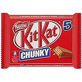 KitKat Chunky - Galleta Recubierta de Chocolate - Paquete de 5 x 40 g - Total: 200 g
