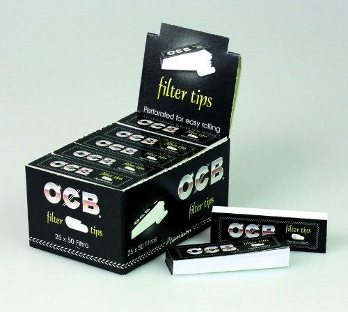 OCB - FILTER TIPS - 25 STK. - 20X60MM