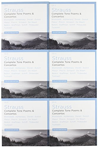 Strauss: Complete Tone Poems & Concertos