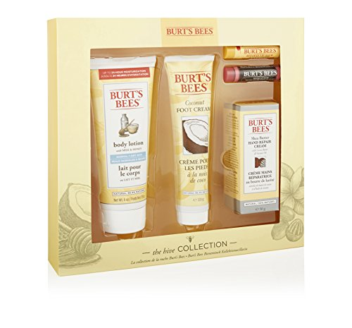 Burt's Bees Bienenstock Kollektion Geschenkset, 1er Pack (1 x 5 Stück) -