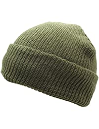 Mil-Tec Roll Up Watch Cap Knited Winter Beanie Hat