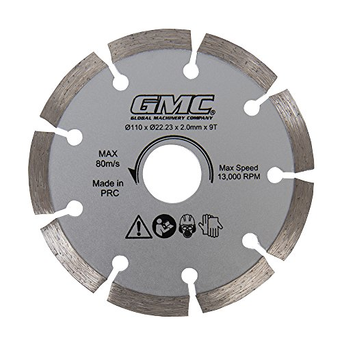 GMC Diamant-Sägeblatt, 1 Stück, silber, GTS1500 (Gmc Kreissäge)