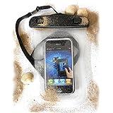 PRESKIN - Wasserfeste Taschen bis 4,5'' Zoll Display, Wasserdichte Smartphone Schutzhülle (Beachbag4.5''Clear) Handy Hülle mit Touchscreen Funktion wie Schutzfolie / Displayfolie, Waterproof / water resistant mobile bag / pouch / case für Samsung, Motorola, Sony, Nokia, LG, Huawei, Apple iPhone 5S, 5C, 5, 4S, 4, HTC (Beachbag4.5''Clear)