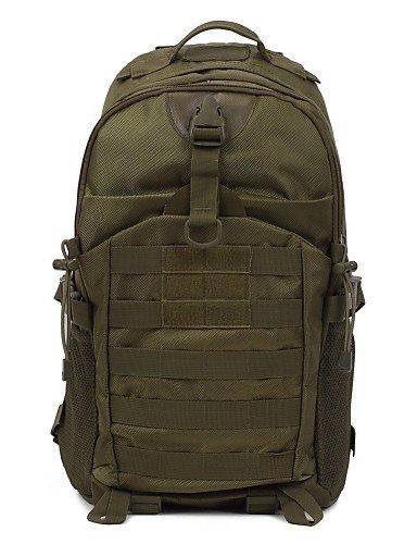 ZQ Clothin Wasserdicht Sport Outdoor Military Rucksack Tactical Rucksack Reisen Schultern Tasche für Wandern Camping - khaki