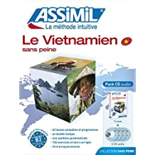 Le Vietnamien sans Peine ; Livre + CD Audio (x4)
