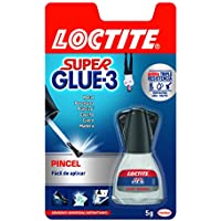 Loctite Super Glue-3 con pincel aplicador, adhesivo univeral instantáneo, 5gr