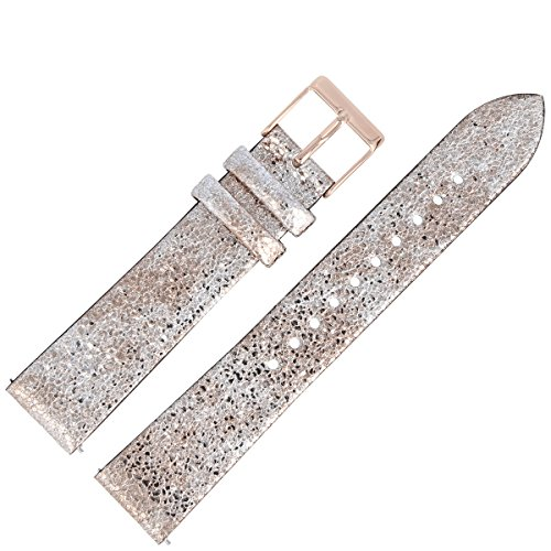Liebeskind Berlin Uhrenarmband 18mm Leder Rosegold - Uhrband 101