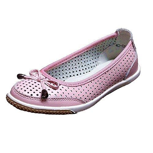 Kinder Sandalen Ballerina Sandalen (76A) Kinderschuhe Slipper Kindersandalen Schuhe Neu Pink