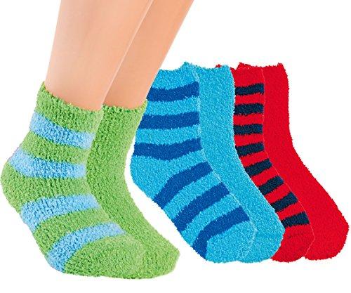 VITASOX 22112 Kinder Kuschel Socken rot 35/38