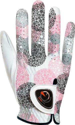 EASY GLOVE Damen Spring_Bubble Purple WRH Golfhandschuhe Linkshänder, Mehrfarbig, XL