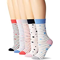 Joules Soxbox Brilliant Bamboo Ankle Sock Set 5Pk (Y)