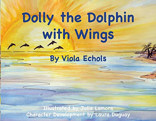 Dolly the Dolphin with Wings