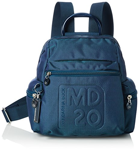mandarina-duck-md20-tracolla-grey-sac-a-dos-femme-bleu-blueberry-495-32x17x30-cm-b-x-h-x-t