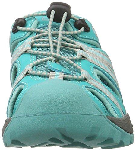 CMP Aquarii, Chaussures de Trekking et Randonnée Mixte Adulte Turquoise (Curacao)