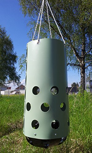 HeuToy Original vom Erfinder (aufgebaut),das bessere Heunetz,Heusack,Heuraufe - 3