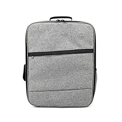 TOOGOO Bag For XIAOMI Mi 4K 1080P FPV Drone RC Quadcopters Carry Bags Outdoor Backpack Shockproof Shoulder Bag Suave Free Drop(gray) from TOOGOO