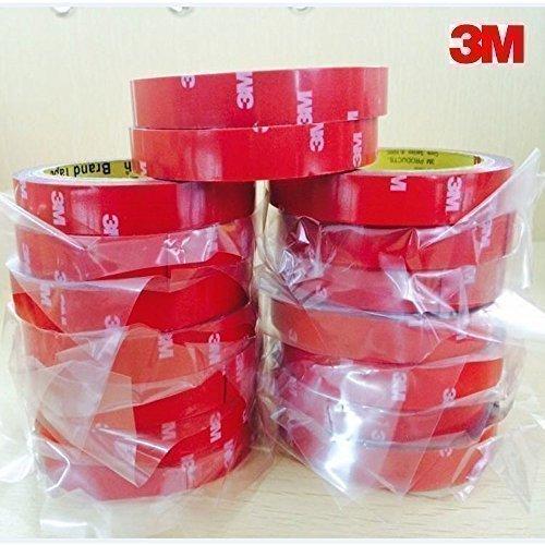 Preisvergleich Produktbild 3M Doppelseitiges Acrylschaummontageband| Größe 20mm x 3m | Stärke 1mm | 3M 4218P Acrylic Foam Klebeband